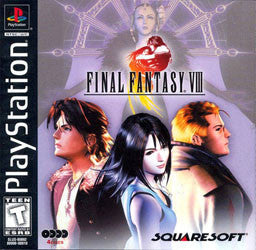 Final Fantasy VIII Playstation Game Off the Charts