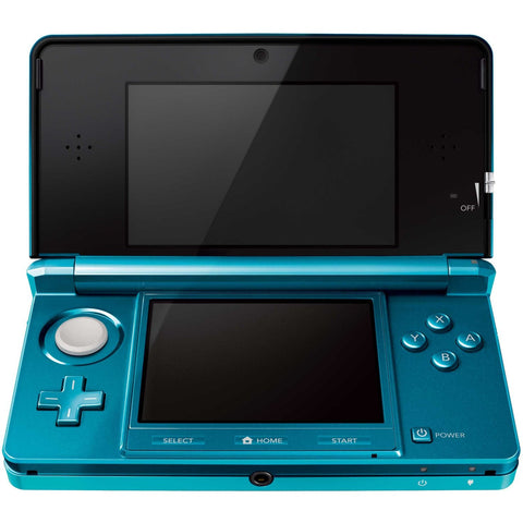 Aqua Blue Nintendo 3DS System - Used - Used System Nintendo 3DS Console Off the Charts