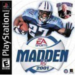 Madden 2001 Playstation Game Off the Charts