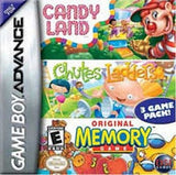 Candy Land, Chutes and Ladders, and Memory Game Boy Advance Game Off the Charts