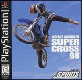Jeremy McGrath Supercross 98 Playstation Game Off the Charts