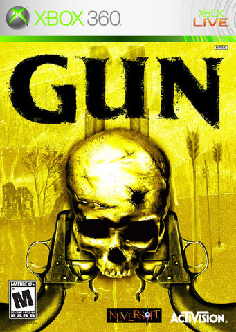 Gun Xbox 360 Game Off the Charts