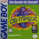 Centipede Game Boy Game Off the Charts