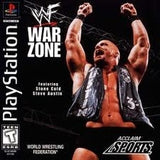 WWF War Zone Playstation Game Off the Charts