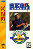 36 Great Holes Sega 32x Game Off the Charts