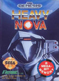Heavy Nova Sega Genesis Game Off the Charts