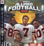 All Pro Football 2K8 Playstation 3 Game Off the Charts