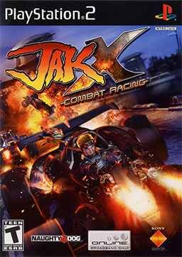 Jak X Combat Racing Playstation 2 Game Off the Charts
