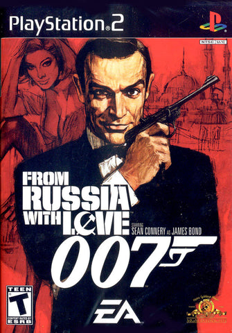 007: From Russia With Love Playstation 2 Game Off the Charts