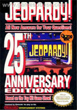 Jeopardy 25th Anniversary Edition Nintendo NES Game Off the Charts