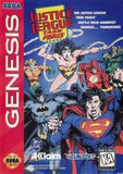Justice League Task Force Sega Genesis Game Off the Charts