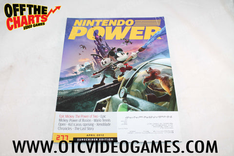 Nintendo Power Volume 277 Nintendo Power Magazine Off the Charts