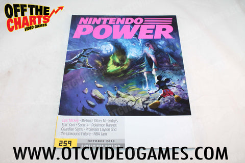 Nintendo Power Volume 259 Nintendo Power Game Off the Charts