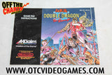 Double Dragon II The Revenge Manual Nintendo NES Manual Off the Charts