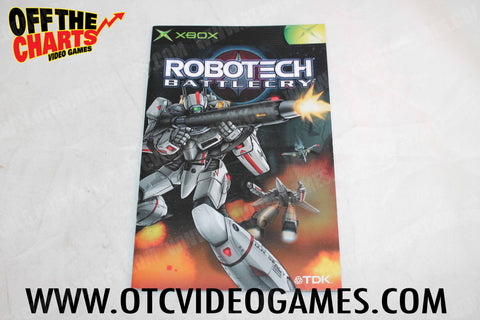 Robotech Battlecry Manual - Off the Charts Video Games