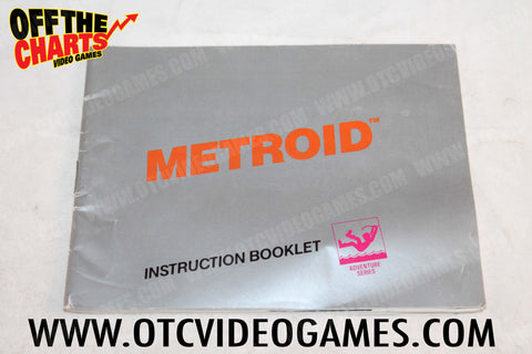 Metroid Manual - Off the Charts Video Games