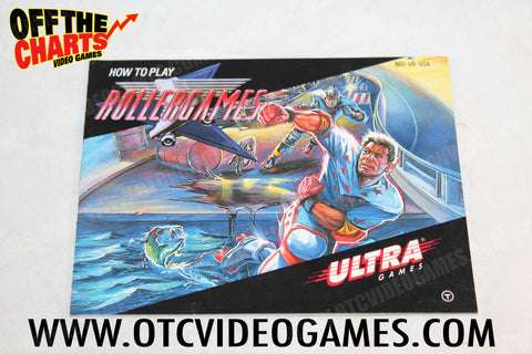 Rollergames Manual - Off the Charts Video Games