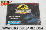 Jurassic Park Manual Nintendo NES Manual Off the Charts