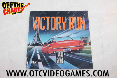 Victory Run Manual TurboGrafx-16 Manual Off the Charts