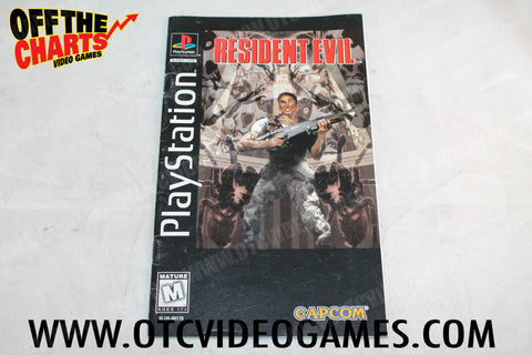 Resident Evil Tall Case Manual - Off the Charts Video Games