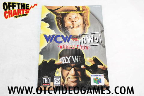 WCW vs. NWO World Tour Manual - Off the Charts Video Games