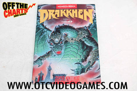 Drakkhen Manual - Off the Charts Video Games