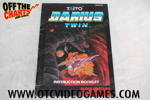 Darius Twin Manual Super Nintendo Manual Off the Charts
