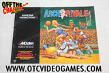 Arch Rivals Manual Nintendo NES Manual Off the Charts
