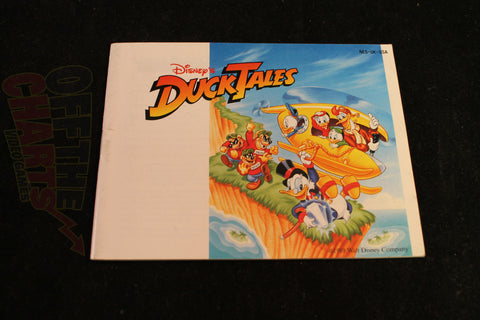 Duck Tales Manual Nintendo NES Manual Off the Charts