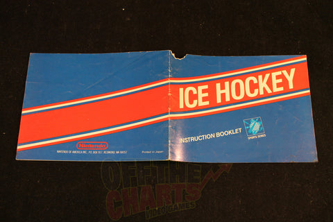 Ice Hockey Manual - Off the Charts Video Games