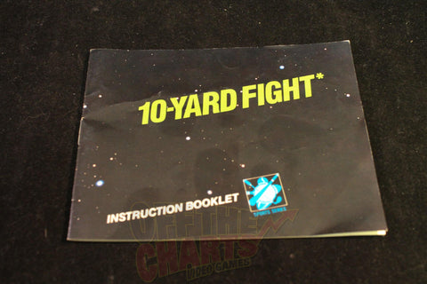 10-Yard Fight Manual - Off the Charts Video Games