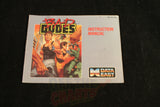 Bad Dudes Manual - Off the Charts Video Games