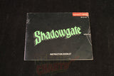 Shadowgate Manual - Off the Charts Video Games