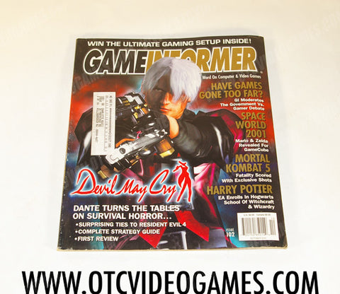 Game Informer Issue 102 - Off the Charts Video Games