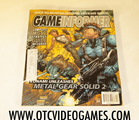 Game Informer Issue 104 - Off the Charts Video Games