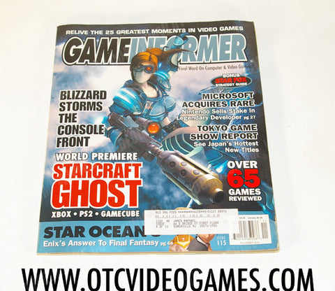Game Informer Issue 115 - Off the Charts Video Games
