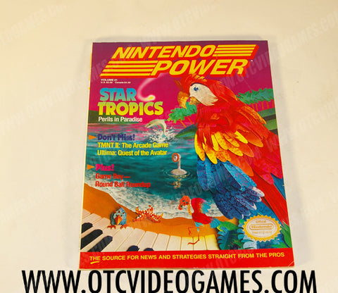 Nintendo Power Volume 21 - Off the Charts Video Games