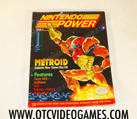 Nintendo Power Volume 31 - Off the Charts Video Games