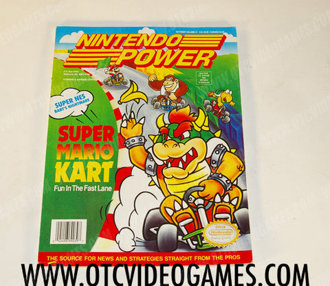 Nintendo Power Volume 41 - Off the Charts Video Games