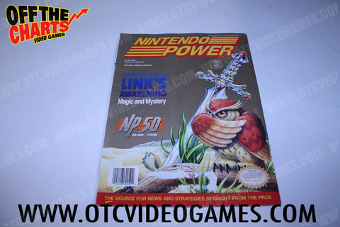 Nintendo Power Volume 50 - Off the Charts Video Games