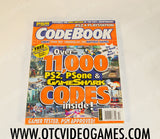 PS2 and Playstation Code Book Playstation Magazine Magazine Off the Charts