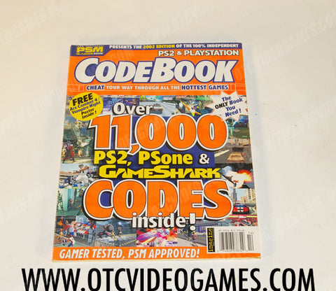 PS2 and Playstation Code Book - Off the Charts Video Games