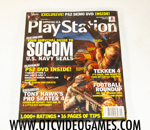 Playstation Magazine Issue 60 - Off the Charts Video Games