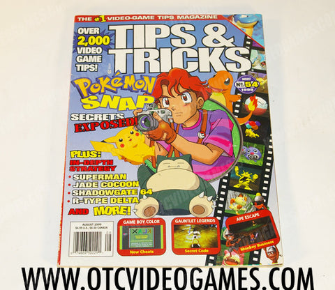 Tips & Tricks Issue 54 - Off the Charts Video Games