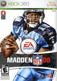 Madden 08 Xbox 360 Game Off the Charts