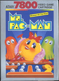 Ms. Pac-Man Atari 7800 Game Off the Charts