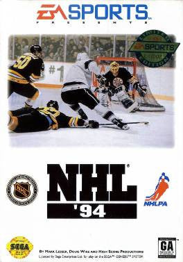 NHL '94 Sega Genesis Game Off the Charts