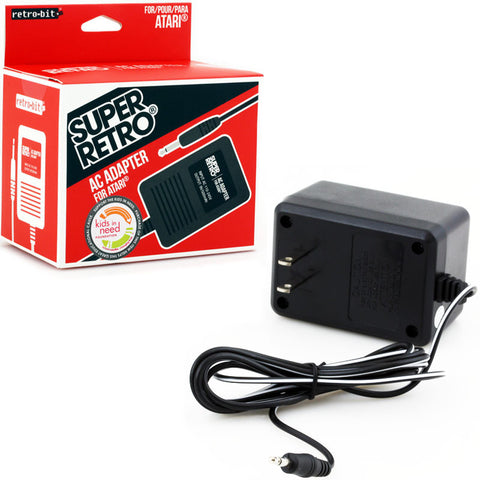 Atari Power Adapter By Retro-Bit Atari 2600 Accessory Off the Charts