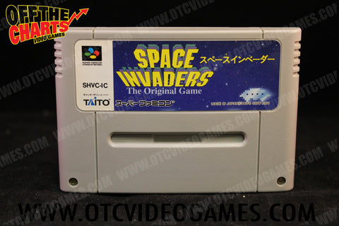 Space Invaders Super Famicom Game Off the Charts