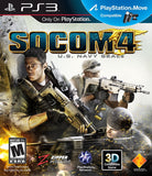 Socom 4 U.S. Navy Seals Playstation 3 Game Off the Charts